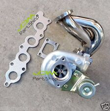 Suzuki Swift GTi G13B exhaust manifold with bolt on turbo turbocharger & gaskets