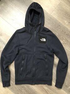 EUROPE EXCLUSIVE North Face Black Label Series Fleece Hoodie Jacket Summit Navy