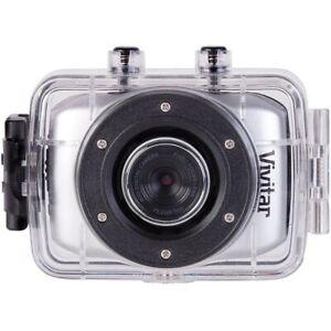 Vivitar HD Action Waterproof Camera / Camcorder - Silver DVR781HD-SIL