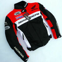 Honda HRC Breathable Mesh Durable Riding Jacket Clothes Safety Accessory summer