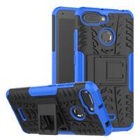 Para Xiaomi Redmi 6 Carcasa Híbrida 2 Piezas Exterior Azul Estuche Funda Nueva