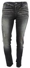 Paige Jeans 31 grau blue heights denim used Effekte slim fit Baumwolle wie neu