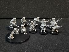 Warhammer 40K Imperial Guard Vostroyan First Born squad with Heavy Bolter oop B