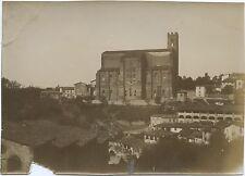 Saint Dominique de Sienne Italie Italia vintage Aristotype ca 1900