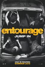 Entourage (2015) Zweiseitig ORIGINAL Kinofilm PLAKAT US Eins Blatt STIL B