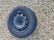 5x100 15 inch steel wheel with tyre