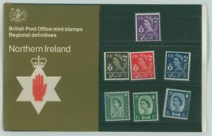 G.B. BRITISH POST OFFICE MINT STAMPS REGIONAL DEFINITIVES NORTHERN IRELAND 1970