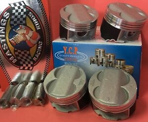 YCP B20 84mm High Compression Pistons + Rings kit For Honda Acura