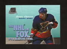 Denis Chasse--St Louis Blues--1996-97 Skybox Impact NHL on Fox Hockey Card