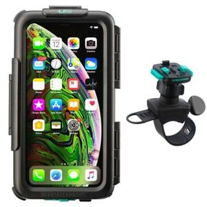 Waterproof case for iPhone + Helix strap bike handlebar mount by Ultimateaddons