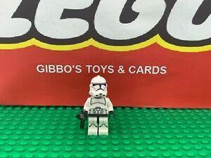 LEGO A CLONE TROOPER printed legs + gun minifigure STAR WARS set 75028 figure