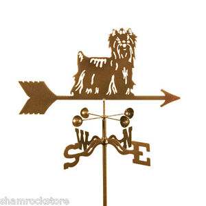 Dog - Yorkie - Yorkshire Terrier Weathervane, Vane - Complete w/ Choice of Mount