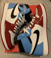 Air Jordan 1 Retro High OG FEARLESS Size 13 Chicago UNC