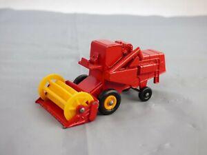 Vintage Lesney Matchbox Series 65 Claas Combine Harvester Farm Vehicle Toy Car