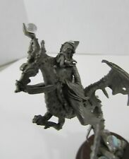 Perth Pewter Wizard in flight with dragon James Lane Casey '87 s246