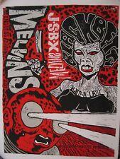"The Melvins and Jon Spencer Blues Explosion Poster for Black Betty split 7"""