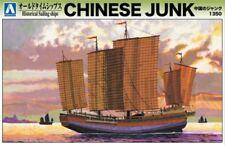 Aoshima 05401 Chinese junk 1350 Plastic Model Kit historiques Voiliers-T48