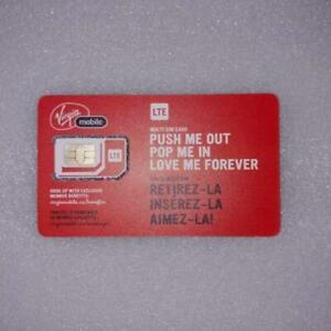 Time For All Kinds - New Virgin Mobile Multi SIM 3 In 1 Adapter SIM Card