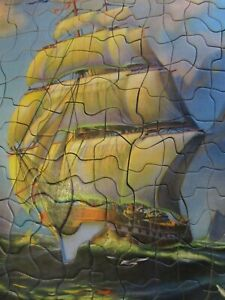 1930s Art Picture Puzzle Rounding the Cape 34873 Tuco