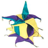 PLUSH CRAZY PARTY HAT jester dressup carnival mens womens wild costume hats CH21