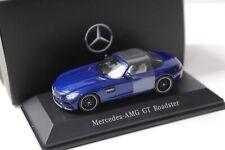 1:43 Spark Mercedes AMG GT Roadster blue DEALER NEW bei PREMIUM-MODELCARS