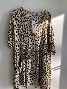 Leopard Dress BNWT