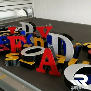 3D Buchstaben Led Werbung für Shishabar,Cafe,Lounge