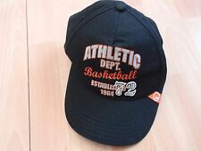 NWT BOYS GYMBOREE SZ 3-4 BLACK BASKETBALL HAT
