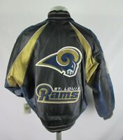 St. Louis Rams NFL Men's Authentic G-III Embroidered Leather Jacket