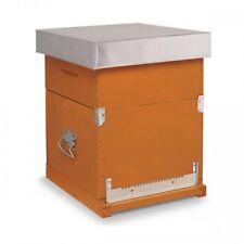 Arnia box DB a 10 favi compl. di melario e telaini con foglio cereo  Art.AR13F