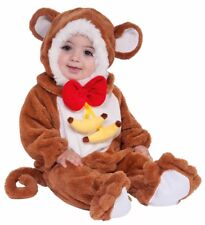 Forum Novelties Baby Boy's Plush Cuddlee Monkey Halloween Costume Infant New