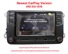 RCD330 Radio 6.5'' MIB UI Stereo CarPlay APP Bluetooth RCD340 VW Free Adapters