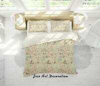 3D Plant Flower Quilt Cover Duvet Cover Comforter Cover Single/Queen/King 9