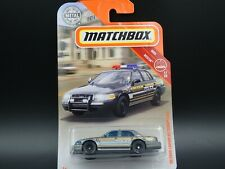 MATCHBOX 2006 06 FORD CROWN VICTORIA POLICE RESCUE 1:64 SCALE DIECAST MODEL CAR