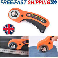 45mm Rotary Cutter Premium Quilters Sewing Quilting Fabric Cutting Craft Tools