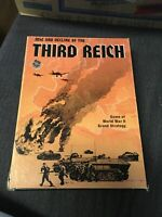 Avalon Hill 1974 Rise and Decline of the Third Reich 2nd Edition