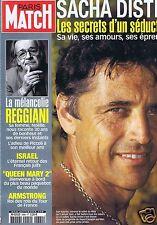 Couverture magazine,Coverage Paris-Match 28/08/04 Sacha Distel