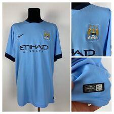 Manchester City 2013/14 Nike Jersey Shirt #35 Jovetic Size 3XL