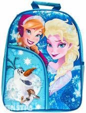 Frozen Backpack Disney Kids Girls School Book Bag Luggage Toy Elsa Anna Olaf New