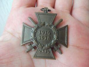 Vecchio Ordine, Croce D'Onore 1914 - 1918