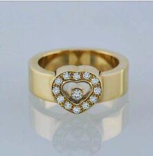 CHOPARD HAPPY DIAMOND RING 18K YELLOW GOLD