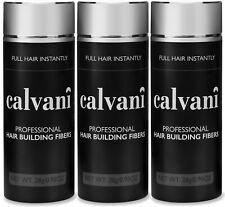 3 x CALVANI Building Fibers 28g: Thickening Fibres, Economy Pack