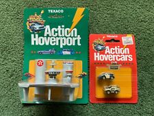 TEXACO BACK TO THE FUTURE MICRO ACTION HOVERPORT & HOVERCARS PROMOTIONAL 1989
