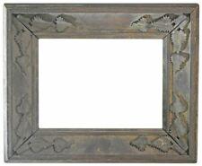 American 1860 Folk Art Carved Walnut Picture Frame (6x9) (SKU 2072)