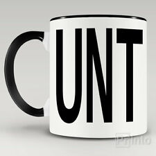 UNT MUG ***** RUDE OFFENSIVE CUP naughty gift + Free gift box