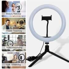 "10"" Selfie LED Ring Light with Phone Holder for Youtube Video Makeup Soft Light"