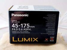 Panasonic Lumix 45-175 mm f4.0-5.6 Negro Vario PZ G X