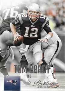 2015 Prestige Football cards #1-#200  U Pick - Complete Your Set! Brady, Manning