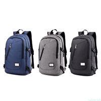 USB Charging Port Laptop Backpack Men Women Large Capacity Bag Waterproof G10