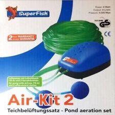 Superfish / Super Fish Air Kit 2 Pond Aeration Set Pond Air Pump Koi